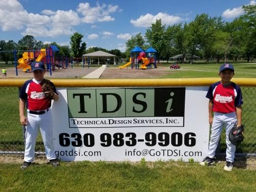 TDSi Sponsors Elwood Broncos Baseball